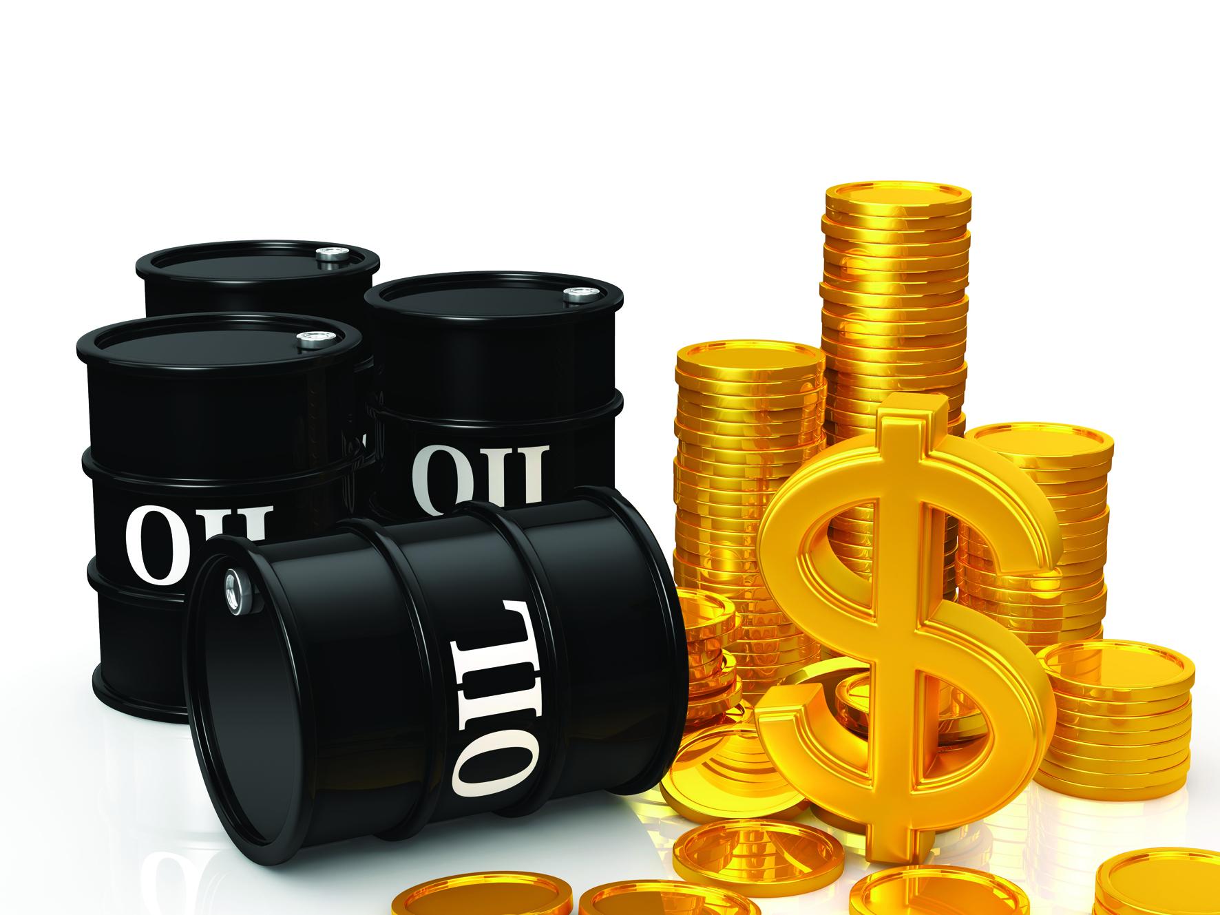 أسعار الذهب وعلاقته  مع النفط والدولار