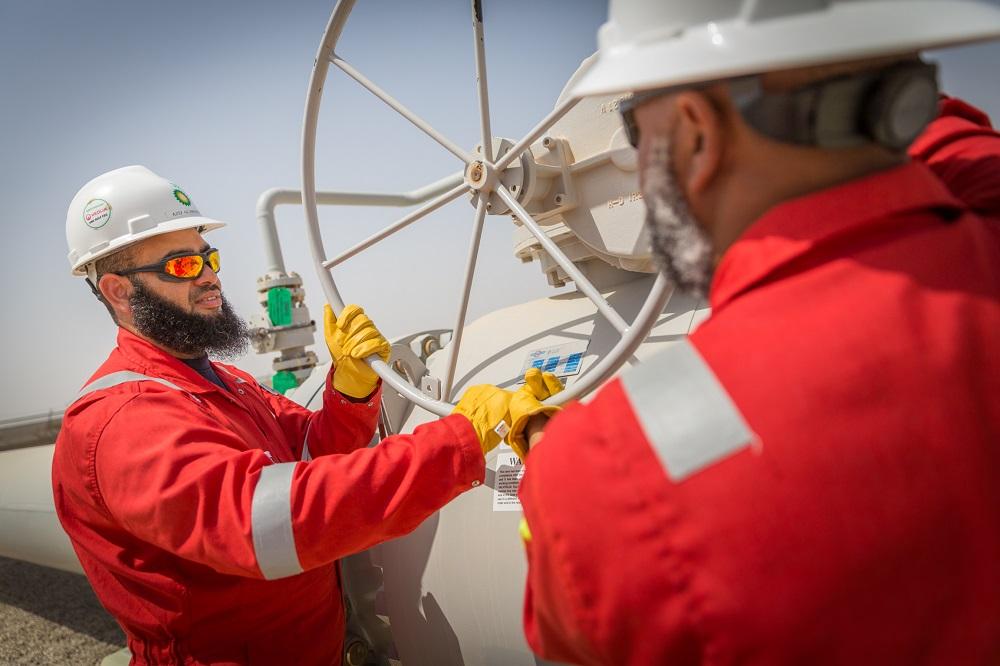 حقل خزان يبدء إنتاج أول دفعة من الغاز
