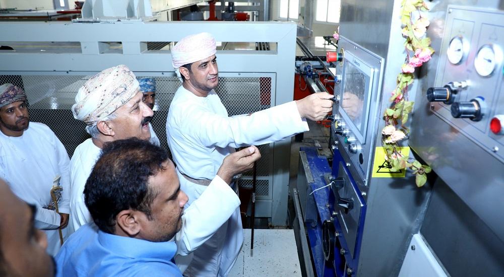 شركة المها للسيراميك تدشن خطوط الإنتاج للصقل والتسوية