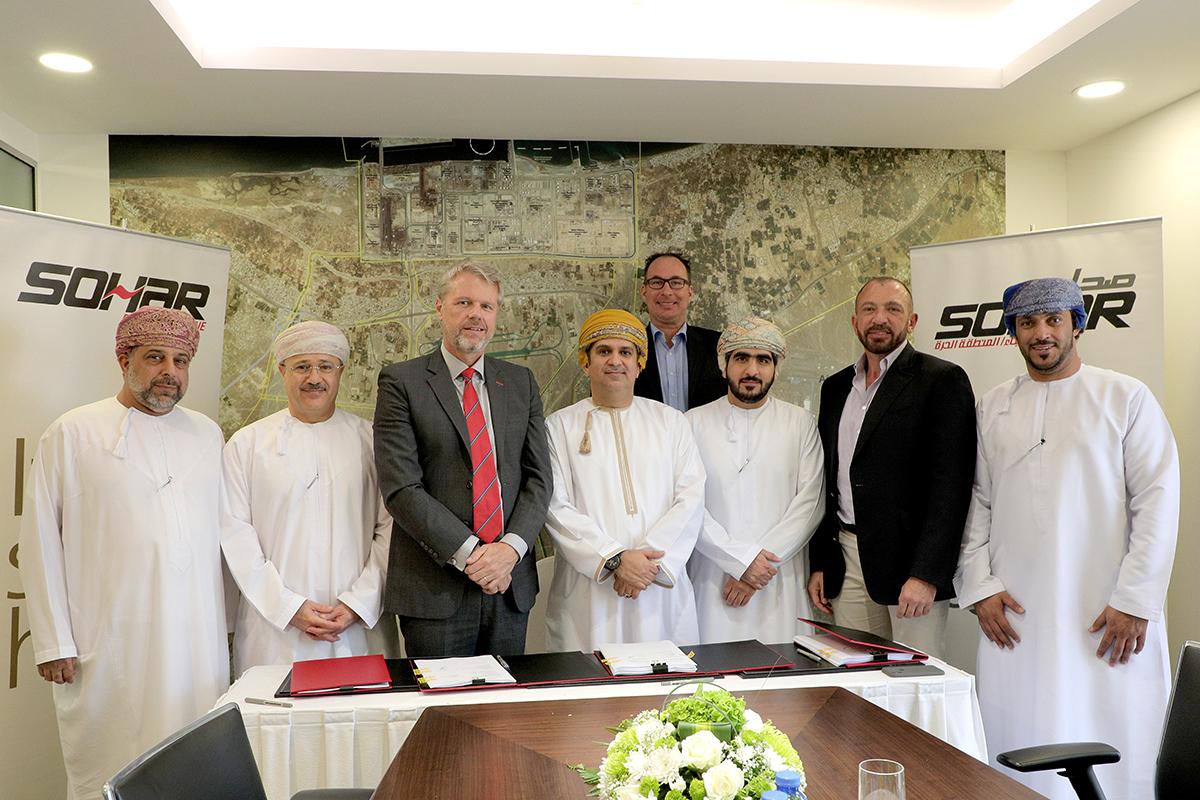 ميناء صحار يوقع اتفاقية حق انتفاع لمشروع صوامع الغلال