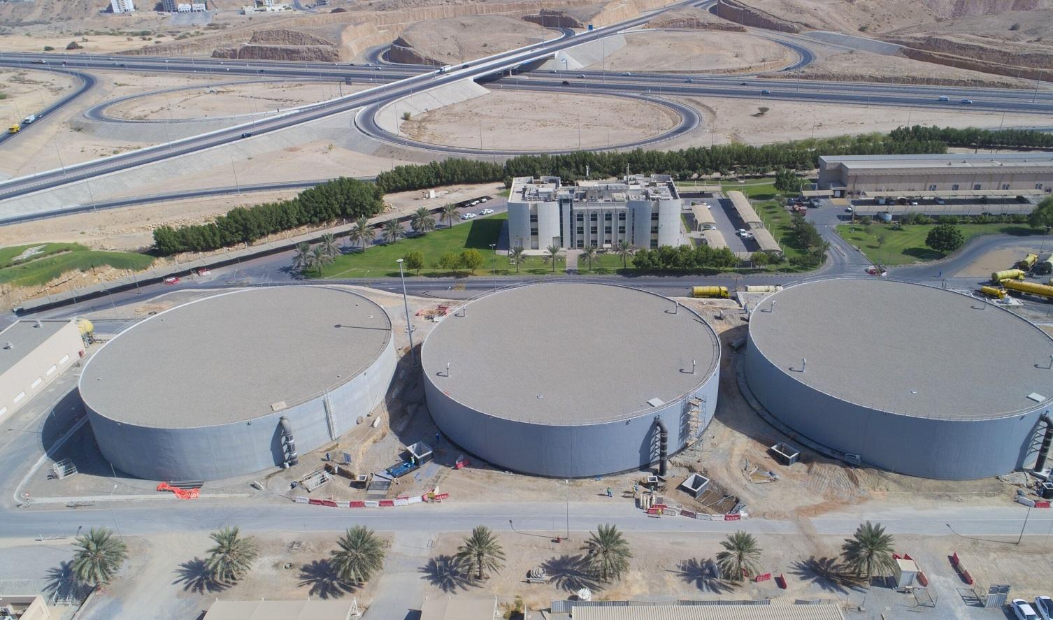 قريبا الانتهاء من مشروع توسعة محطة الأنصب لمعالجة مياه الصرف الصحي